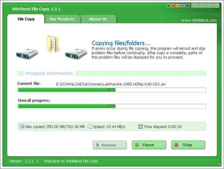 WinMend File Copy1
