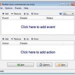 """Ücretsiz Otomatik Bilgisayar Kapatma Programı İndir – Zamanlamalı PC Kapatma Programı """"Shutter"""" Download Yükle Bedava"""