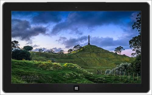 Yeni Zelanda'dan Manzaralar One Tree Hill temas