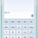 Türkçe Ücretsiz Gelişmiş Hesap Makinesi Programı – Microsoft Hesap Makinesi Plus (+) Bedava İndir Download Yükle