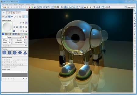 Ücretsiz 3 Boyutlu Modelleme ve Animasyon Programı – 3DCrafter İndir