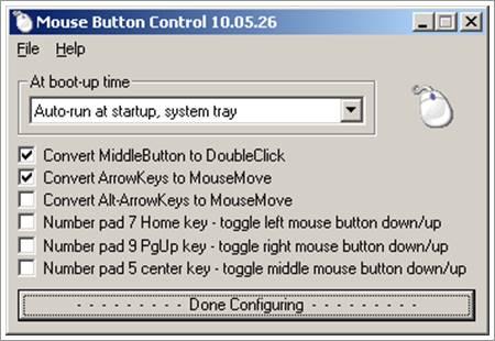 Mouse Button Control