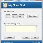 Ücretsiz Masaüstü Hatırlatma ve Alarmlı Saat Programı – My Alarm Clock İndir Download Yükle Bedava
