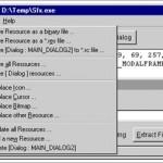 Exe Türündeki Dosyaları Türkçeleştirme ve Düzenleme Programı – Resource Hacker İndir Download Yükle Bedava