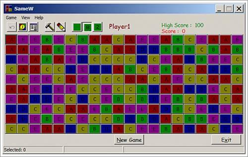 Samew (Same Game for Windows)