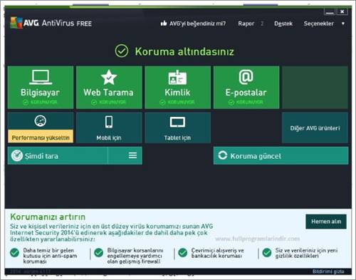 AVG AntiVirus Free Edition 2014