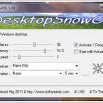 Ücretsiz MAsaüstüne Kar Yağdırma Programı İndir – DesktopSnowO İndir Download Yükle Bedava