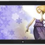 Windows 7 ve Windows 8 İçin Kar Melekleri Teması İndir Download Yükle Bedava