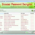 Tarayıcılardan Şifre Kurtarma ve Şifre Bulma Programı – Browser Password Decryptor İndir Download Yükle Bedava