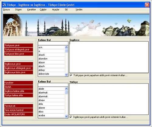İngilizce'den Türkçe'ye Türkçe'den İngilizceye Çeviri Programı – Cümle Çeviri Programı İndir Download Yükle