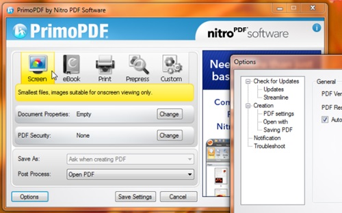 "Bedava PDF Oluşturma Programı İndir – ""PrimoPDF"" İndir Download Yükle Bedava"