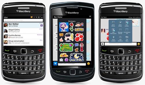 Viber BlackBerry