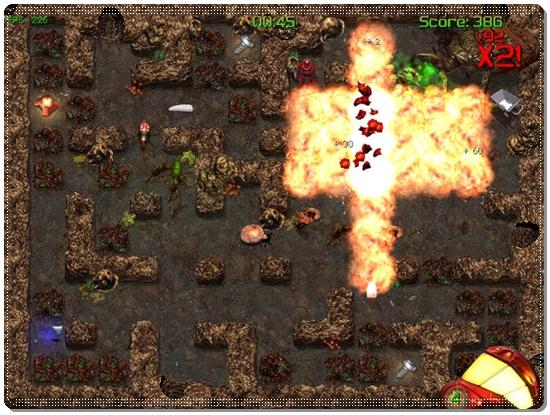 Ücretsiz Bomberman Benzeri Macera Oyunu İndir - Mars Miner İndir