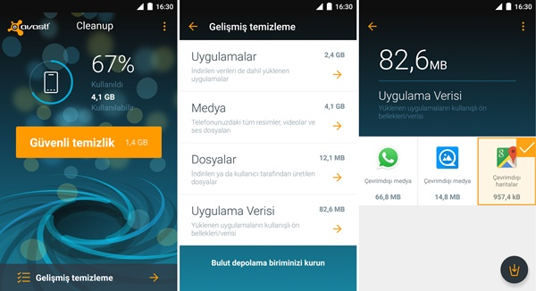 Avast Cleanup mobil