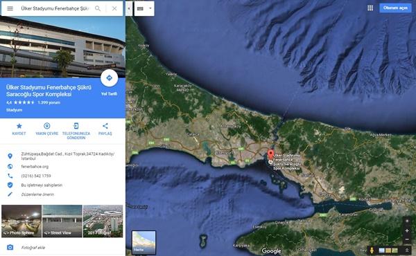 google maps-google haritalar