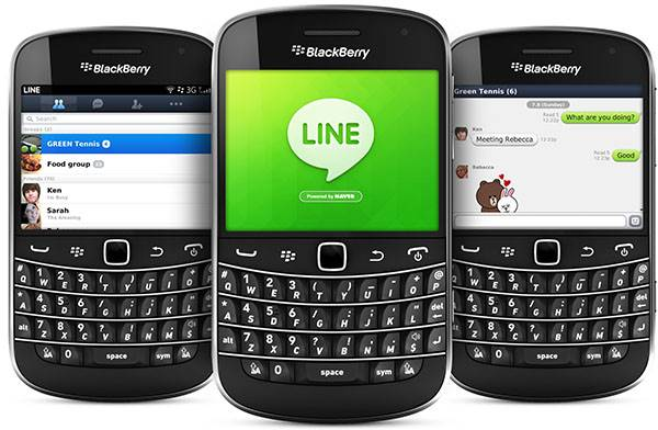 BlackBerry LINE
