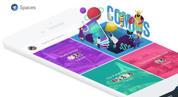 Google Spaces web