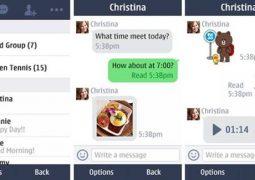 Nokia Asha İçin Mesajlaşma ve Görüntülü Konuşma Uygulaması – LINE İndir Yükle Ücretsiz