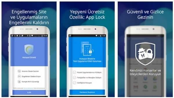 Hotspot Shield Free VPN Proxy mobil