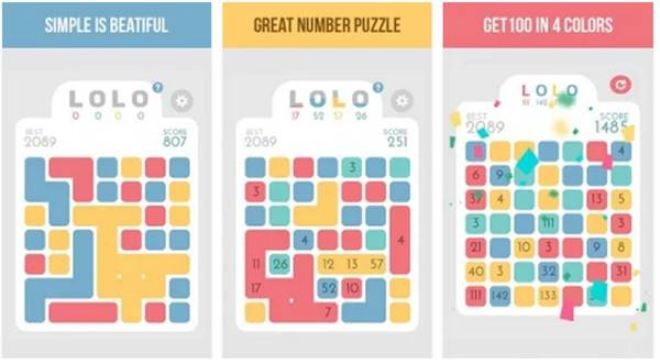 LOLO Puzzle Game
