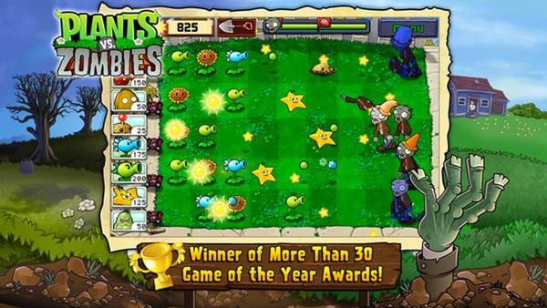 Plants vs. Zombies mobil