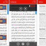 Windows Phone ve Windows 10 Mobile İçin Kur'an-ı Kerim (Diyanet İşleri Başkanlığı) İndir Download