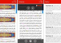 Windows Phone ve Windows 10 Mobile İçin Kur'an-ı Kerim (Diyanet İşleri Başkanlığı) İndir