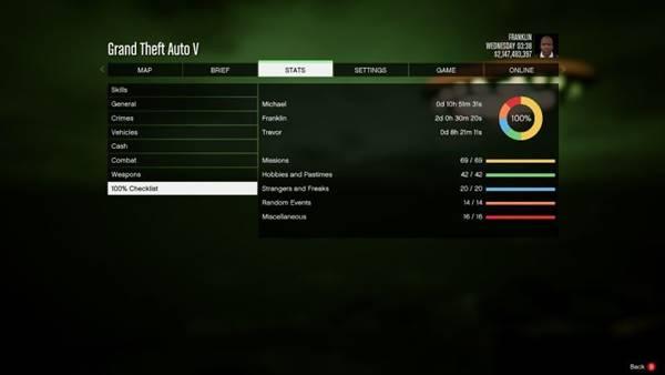 GTA 5 100 Save