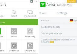 Mac için Yasaklı Sitelere Giriş ve IP Gizleme Programı – Avira Phantom VPN İndir