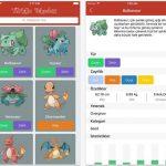 iPhone ve iPad İçin Türkçe Pokedex İndir – Pokemon Listesi ve Pokemon Özellikleri Uygulaması