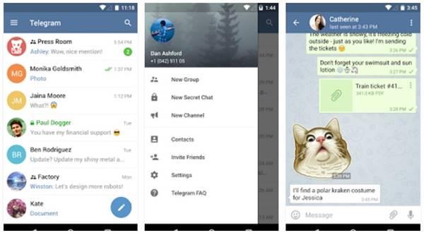 android telegram