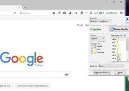 Firefox İçin Anonim Gezinti ve Yasaklı Sitelere Giriş Eklentisi – anonymoX İndir