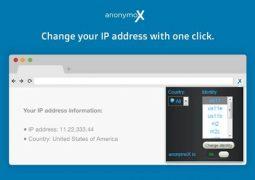 Chrome İçin Anonim Gezinti ve Yasaklı Sitelere Giriş Eklentisi – anonymoX İndir