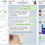 iPhone ve iPad İçin Güvenli Mesajlaşma Uygulaması – Telegram Messenger İndir Download