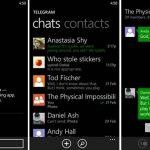 Windows Phone İçin Güvenli Mesajlaşma Uygulaması – Telegram Messenger İndir Download