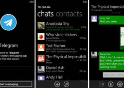 Windows Phone İçin Güvenli Mesajlaşma Uygulaması – Telegram Messenger İndir