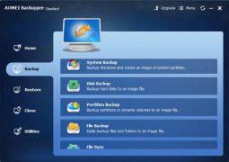 Basit ve Ücretsiz PC Yedekleme Programı – AOMEI Backupper Standard İndir