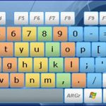 Sanal Ekran Klavyesi – Comfort On-Screen Keyboard Lite İndir Download