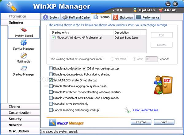winxp-manager