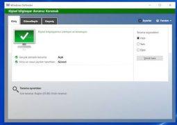 Bedava Antivirüs Programı – Windows Defender (64 bit) İndir