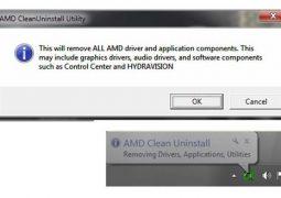 AMD Sürücü Kaldırma Programı – AMD Clean Uninstall Utility İndir