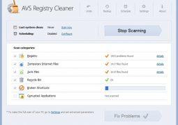 Kayıt Defteri Temizleme ve Onarma Programı – AVS Registry Cleaner İndir
