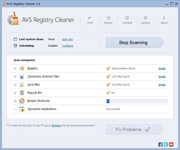 AVS Registry Cleaner