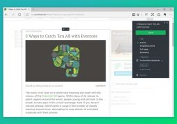 Microsoft Edge İçin Not Alma Eklentisi – Evernote Web Clipper İndir