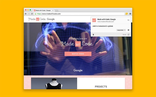 Google Keep Chrome Uzantısı