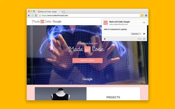 Google Keep Chrome Uzantısı