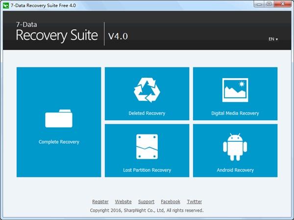 7-Data Recovery Suite programı