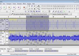 Ses Kayıt ve Ses Düzenleme Programı – Audacity İndir