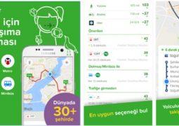 iPhone ve iPad İçin İstanbul Toplu Taşıma Araçları Uygulaması – Citymapper İndir Download