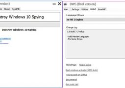 Windows 10 Casus Yazılım Kapatma ve Temizleme – Destroy Windows 10 Spying